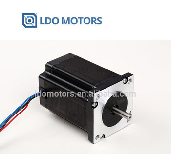 Dual shaft Nema 23 stepper motor 2.8A /263 Oz-in CNC stepping motor