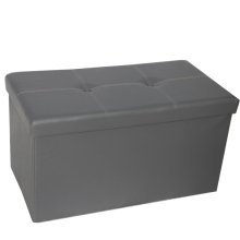 Grey Brown Bench Cheap Folding Coffee Ottoman