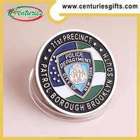 Custom NYPD police challenge coins, CITY OF NEW YORK, police department coin