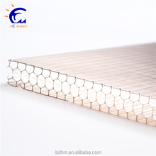 Baoding polycarbonate sheet factory lexan policarbonate honeycomb sheet