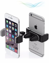 Special secure grips 2 Silicone covered universal clip air vent phone holder