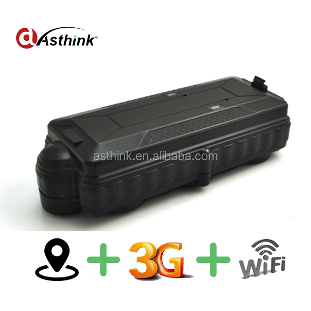 Wireless 3G WCDMA Car GPS Tracker for luggage Vehicle mobile phone location Wifi 3G locator 20000mAh <strong>battery</strong> TK20G