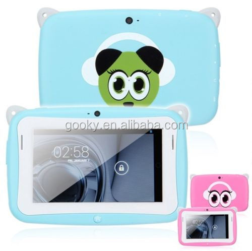 4.3 inch Mini Children Kids Android 4.2 Tablet PC 4GB WIFI Dual Cameras Pink