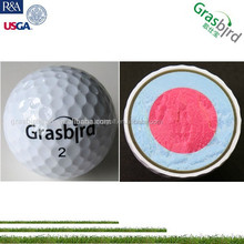customized good performance print play money hard golf ball sale