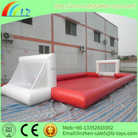 Cheap Price Outdoor Portable Soap Inflatable Football Field For Sale