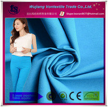 Wujiang hot selling 120T lam lam fabric for ladies tight trousers/rayon nylon spandex fabric