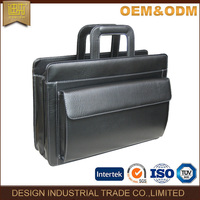 2016 A week delivery time document bag men leather briefcase for businessmen lawyer doctor
