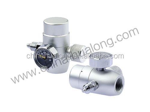 mini co2 cylinder adjusting valve aquarium co2 regulator