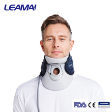 Rubber inflatable cervical neck traction device neck designs for ladies suit