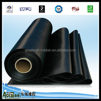 3mpa-15mpa insertion rubber sheet with cloth