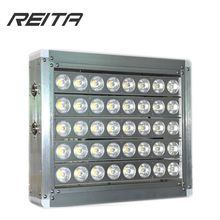 Most powerfull Meanwell driver IP66 outdoor dimmable led flood light 200w 300w 400w cob tennis court lighting