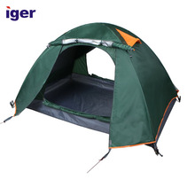 promotional large solar camping 2 man outdoor tent