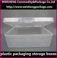 Clear Acrylic Cotton Swab Storage Box Holder Box pp box Cosmetic Makeup Case