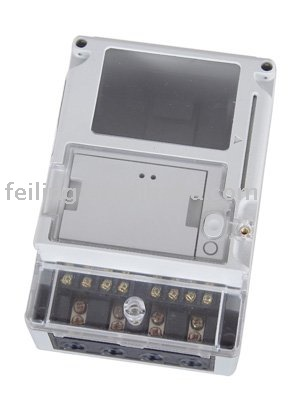 ABS or PC plastic single phase kwh meter case