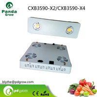 Hot Promotion!!! 200w CXB3590 led grow light full spectrum 400w led grow light for greenhouse