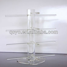 New design wholesale glass display cases