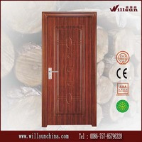 Reasonable price of wooden external doors steel door