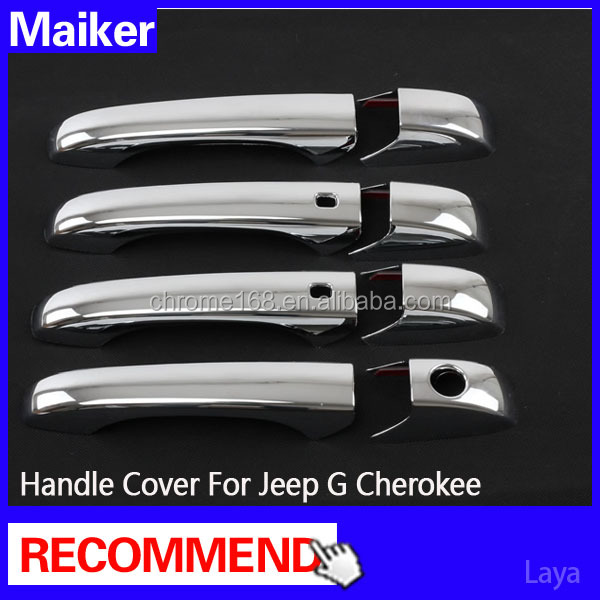 Auto Accessories Doors Handle Cover for Jeep Grand Cherokee 2011+ auto parts