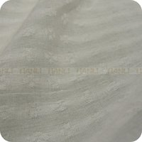 Pure White Georgette Fabric