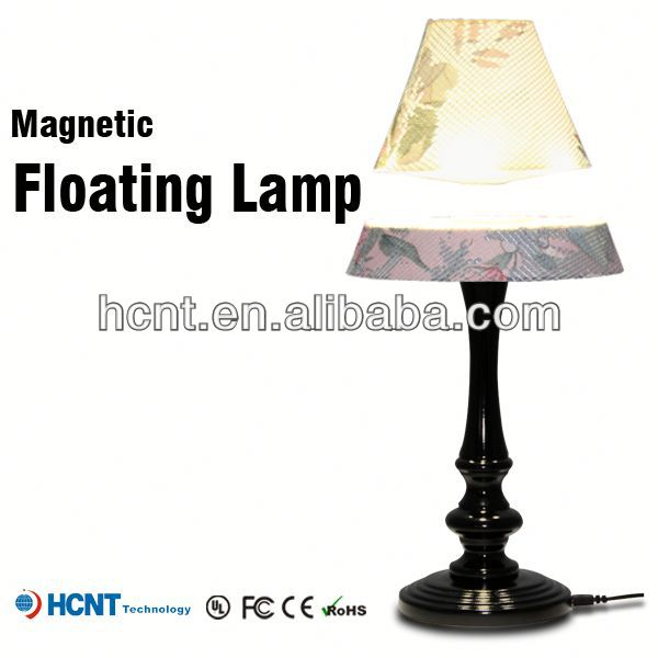 Best sell magnetic floating led lmap, lampe de table en porcelaine chinoise