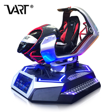 VART Real Track Simulation 9D VR Driving Simulator Racing Car Game Equipment For Theme Park