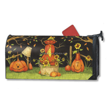 Decorative Magnetic Mailbox Wrap Cover Mailbox Covers Halloween Printing