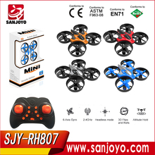 Cool design PK JJRC H36 JXD 515V mini drone RC quadcopter with altitude hold function(for choice) With LED lights SJY-RH807