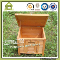 SDR13 Beautiful Rabbit Cage Small Wood Pet House