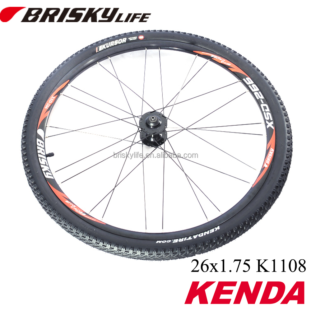 Bicycle tire 26 x 1.75 Kenda tire for mountain bike