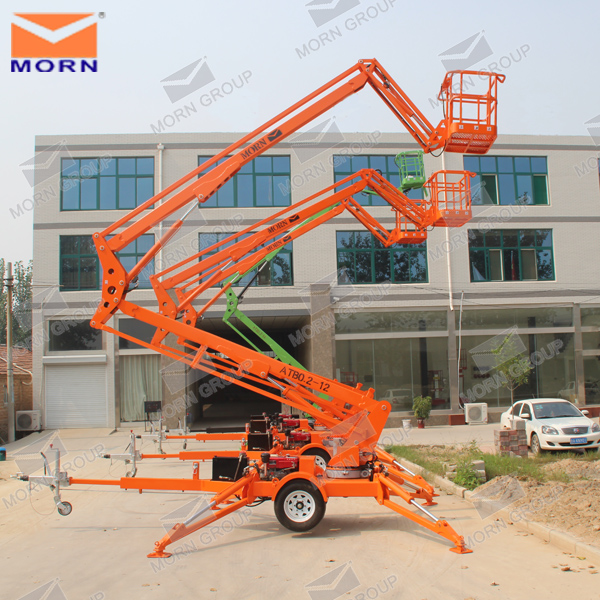 towable boom lift for sale / hydraulic lift for painting