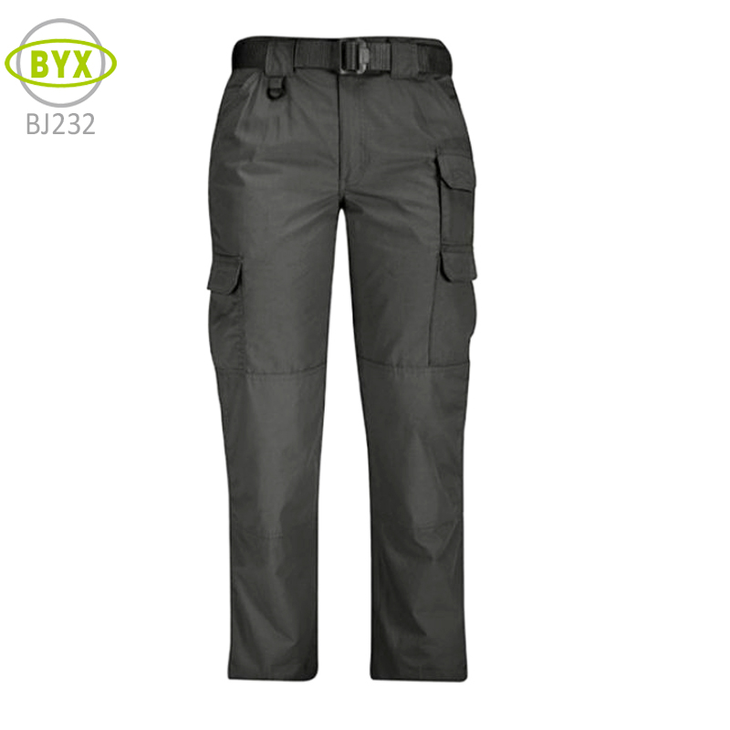 Unisex cheap durable black cargo work pants