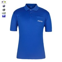 Fancy design cheap promotion 100% polyester polo t-shirts men's
