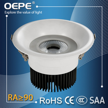 Most salable products 2015 no flicker 15w cob recessed led ceiling downlight