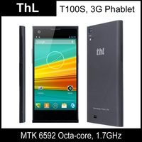 Original THL T100S Ironman 32GB Black, 3G Phablet, GPS + AGPS, Android 4.2.2, MTK6592 1.7GHz Octa Core, RAM: 2GB Smart Phone
