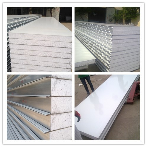 Clean room sandwich panel eps foam keeping warm sandwich panel