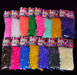2018 new toys children funny puzzle Non-toxic Eco-friendly Plastic 5mm mini DIY hama perler beads 300beads 500 beads per bag