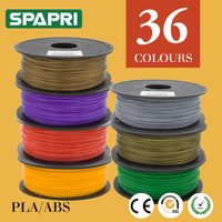 High Precise 36 Colors PLA ABS