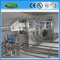 250BPH 5 Gallon Bottle Washing Filling Capping Machine