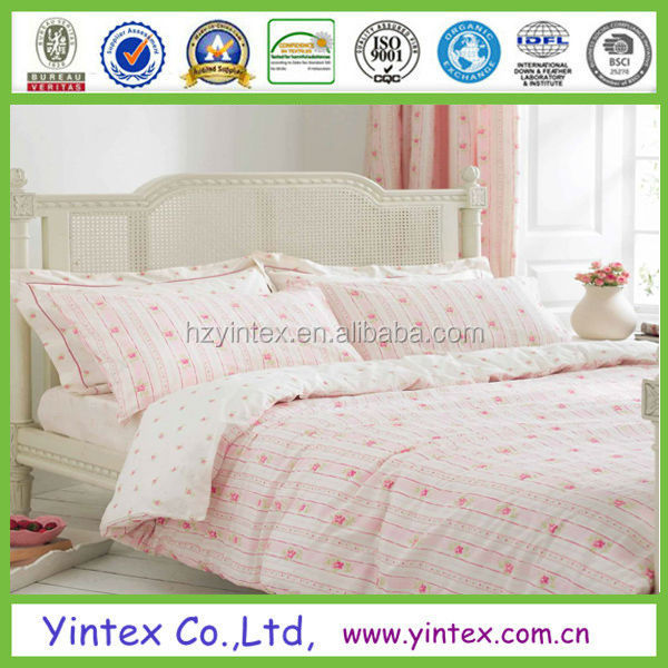 poly cotton printing dyed bedding sets
