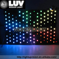 fiber optic light decorative led vision curtain for stage