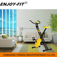 New design folding X magnetic mini exercise bike