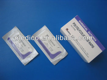 PGAR-surgical suture absorbable