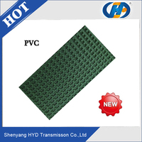 China supplier pvc rough top conveyor belt