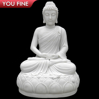 Large Outdoor Decorative Marble Buddha Statues