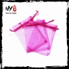 Multifunctional mini organza drawstring bags