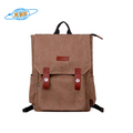 mens fashion korean style canvas backpack rucksack