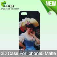 Fashion cheap 3D sublimation Case For iphone 5
