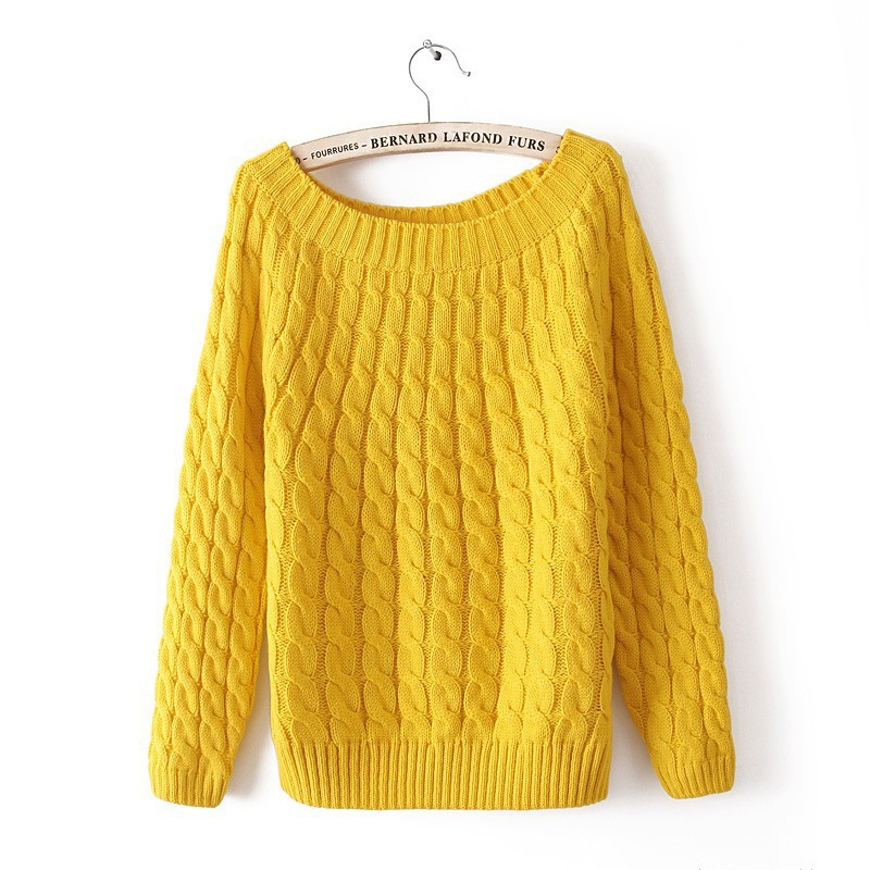 Poncho Sweaters 2015 Autumn And Winter preppy style Long Sleeve Women Sweater Female Casual Knitted Pullover underwear sweaters
