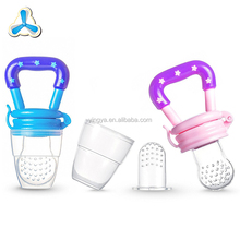 BPA Free Soft Baby Food Fruit Feeder, Infant Nipple Feeding Pacifier