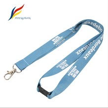 YIFY OEM Design Polyester Custom Logo Safety Breakaway Neck Strap Custom Logo Lanyard